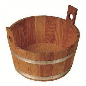 Sauna voetenbak Lariks, naturel