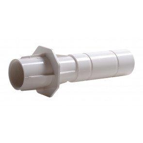 """Astral wanddoorvoer ABS 2"""" (binnendraad) x 50/63 mm voor beton zwembaden"""