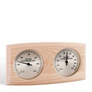 Sauna Thermo-Hygrometer, ovaal