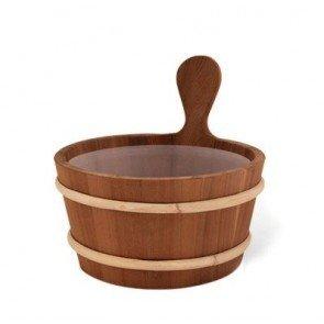Houten (ceder) sauna emmer 4 L