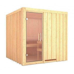 Rhodos Tolja sauna 200 x 200 x 200 cm