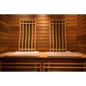 Rhodos Infrarood Combi Sauna 218 x 116 cm