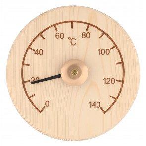 4Living sauna thermometer rond - Pine