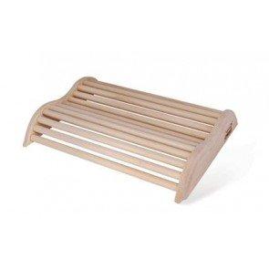 Sauna hoofdsteun in Pine gewelfd