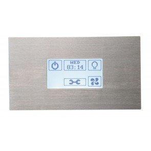 Sawotec Touch STP bedieningspaneel voor stoomgenerator