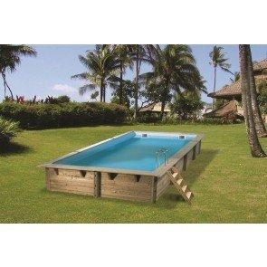 Cerland Urban houten zwembad 650 x 350 x 133