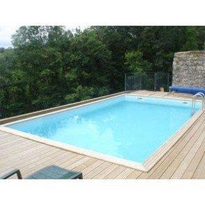 Gardipool Houten Zwembad QUARTOO 3.00m x 5.00m, 1.33m diep