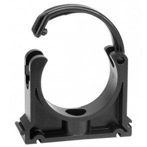 Buisklem PP 63 mm zwart