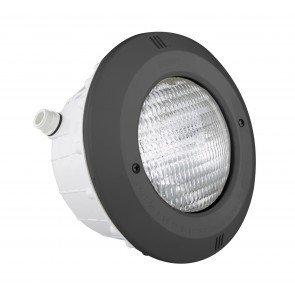 Astral 300W zwembadlamp met inbouwnis + ABS front (antraciet)