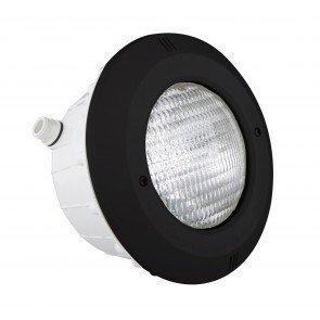 Astral 300W zwembadlamp met inbouwnis + ABS front (zwart)