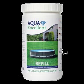 Aqua Excellent navulling voor opzetzwembad
