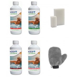Aqua Excellent All-in-One spa reinigingspakket
