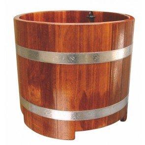 Sauna professionele voetenbak Kambala, blank gelakt