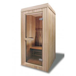 BH133 infrarood sauna 133 x 103 x 212 cm - Red Cedar
