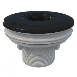 Astral verstelbare inspuiter (Ø14/20/25 mm) met borgmoer - antraciet