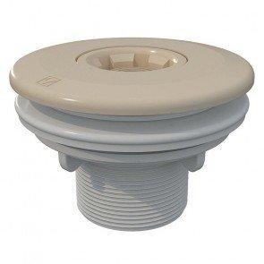 Astral verstelbare inspuiter (Ø14/20/25 mm) met borgmoer - beige