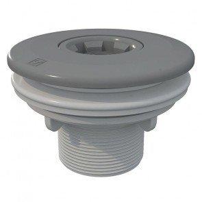 Astral verstelbare inspuiter (Ø14/20/25 mm) met borgmoer - grijs