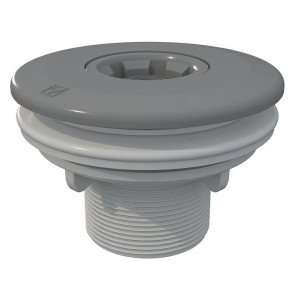 Astral verstelbare inspuiter voor prefab/polyester - grijs