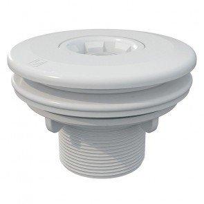 Astral verstelbare inspuiter (Ø14/20/25 mm) met borgmoer - wit