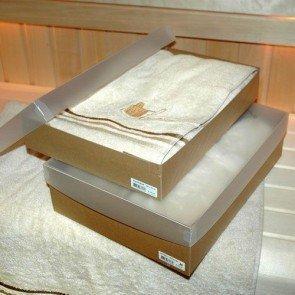 Heren saunaset in geschenkverpakking