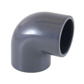 PVC knie 90 graden 50 mm