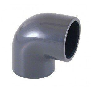 PVC knie 90 graden 63 mm
