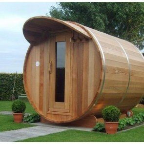 Dundalk Barrel Sauna BS214 - ø214 Clear Red Cedar