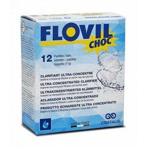 Flovil Choc vlokmiddel 12 tabletten