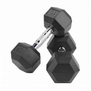 Crossmaxx LMX81 Hexagon dumbbells 25 kg (2 stuks)