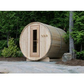 Dundalk Barrel Sauna BS182 - ø182 Clear Red Cedar