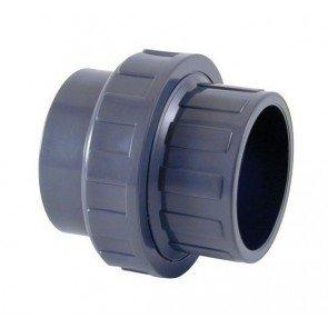 PVC 3/3 koppeling 2x 50 mm (lijmverbinding)