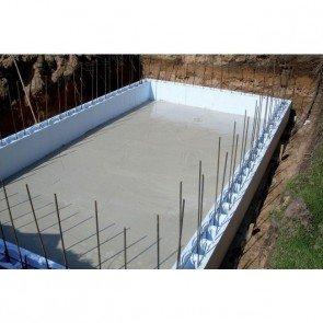 EPS bouwblokken zwembad bouwen - 8,00 x 4,00 x 1,50m