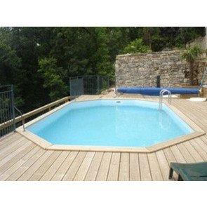 Gardipool houten zwembad Oblong