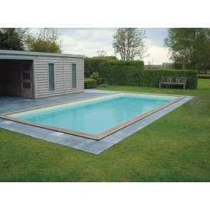 Gardipool Houten Zwembad QUARTOO 3.50m x 3.50m, 1.33m hoog