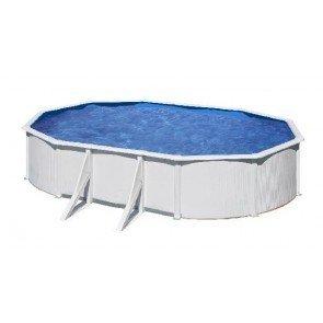 Gré Fidji stalen zwembad set - 610 x 375 x 120 cm