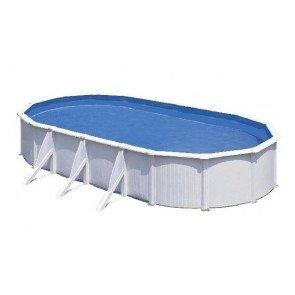 Gré Fidji stalen zwembad set - 730 x 375 x 120 cm