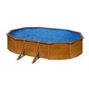 Gré Pacific stalen zwembad set - 730 x 375 x 120 cm