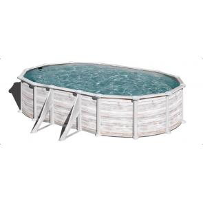 Gre Nordic stalen zwembad set - 509 x 300 x 130 cm
