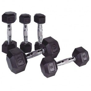 Body-Solid HEXA Dumbbell 1 T/M 50 kg