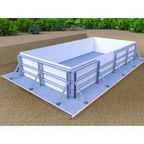Infinit'eau zwembad - 4,00 x 2,50 x 1,39 - constructie