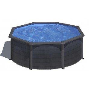 Kea stalen zwembad - 350 x 120 cm - rond