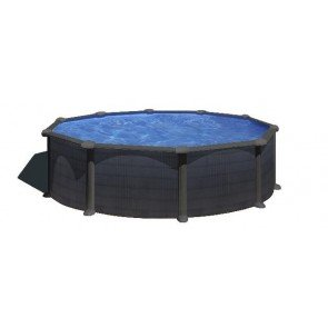 Kea stalen zwembad - 460 x 120 cm - rond