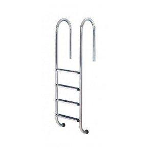 Rechte Zwembad Ladder 4 Treden Anti-Slip
