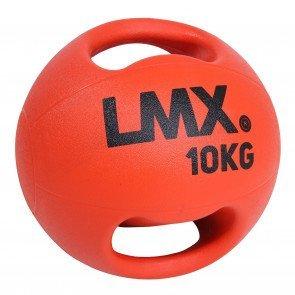 Lifemaxx LMX1250 double handle medicine ball 10 kg