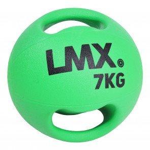 Lifemaxx LMX1250 double handle medicine ball 7 kg