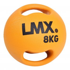 Lifemaxx LMX1250 double handle medicine ball 8 kg