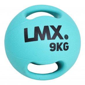 Lifemaxx LMX1250 double handle medicine ball 9 kg