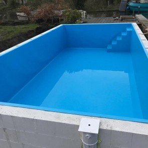 Zwembadfolie lassen - zwembad liner 1,5 mm (gewapend)