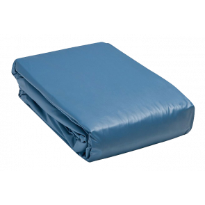 Zwembad liner ovaal 300 x 600 x 120 cm (0,6 mm) - blauw
