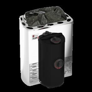 Sawo Mini X saunakachel 3,6 kW - hoekmodel (ingebouwde besturing)